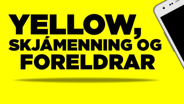 FORELDRAR-YELLOW-SKJAMENNING
