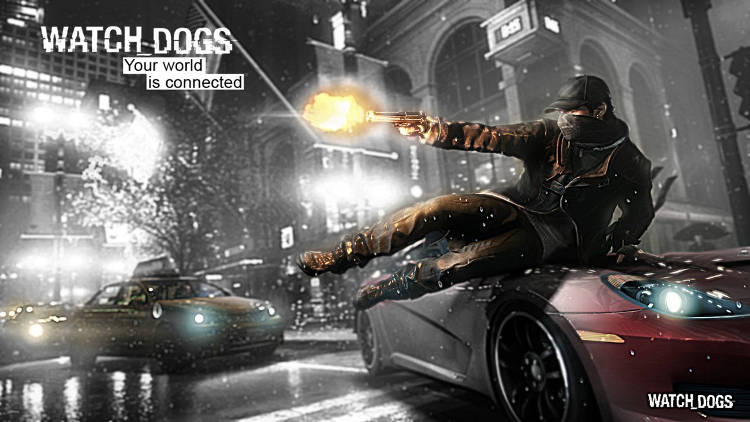 Watch Dogs - plakat