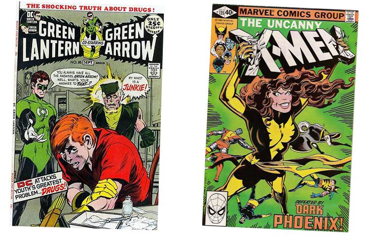 Green Lantern og X-Men Dark Phoenix