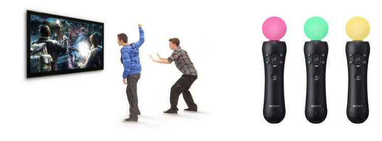 Kinect og PS Move