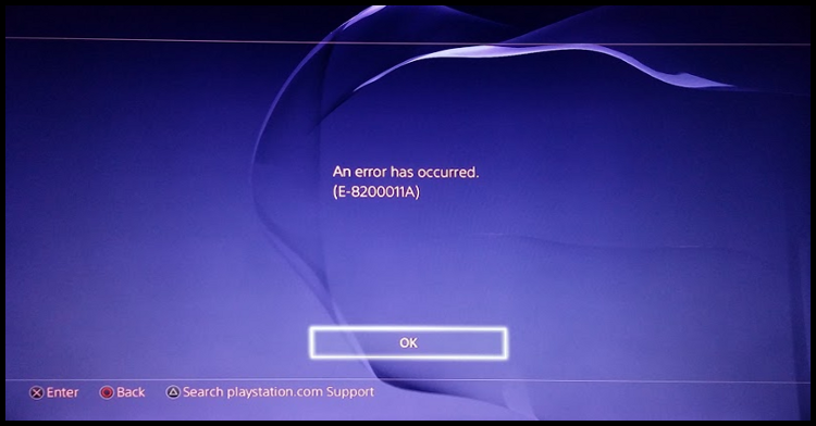 Arrus_PS4_error