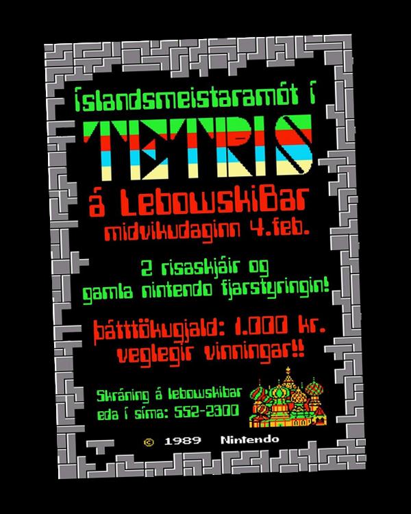 Islandsmeistaramot_Tetris_plakat