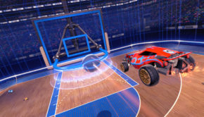 Rocket League Hoops Game mode