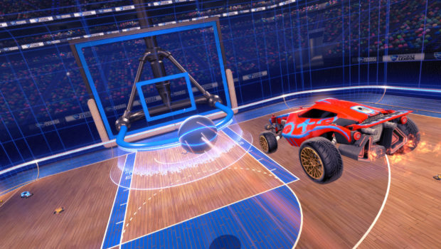 Rocket League Hoops Game mode