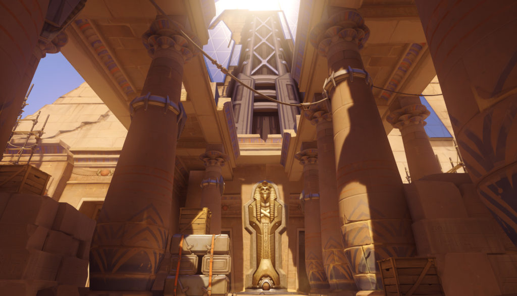 Temple of Anubis Overwatch