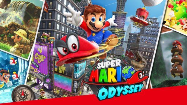 Super Mario Odyssey kápan